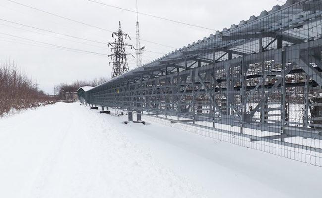 Перевод захода ВЛ 110 кВ Блочная-3 и отпайки от ВЛ-107 до РТСН на территорию Нижегородской ГРЭС