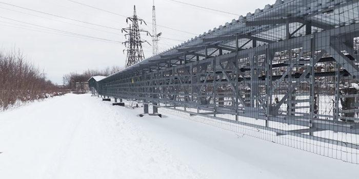 Перевод захода ВЛ 110 кВ «Блочная-3» и отпайки от ВЛ-107 до РТСН на территорию Нижегородской ГРЭС