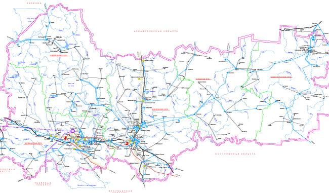 Схема и программа развития электроэнергетики Вологодской области на период 2017 – 2021 годов.