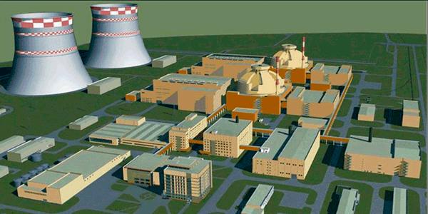 Схема выдачи мощности Нижегородской АЭС