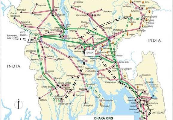 Исследование энергосистемы республики Бангладеш с целью определения необходимых мероприятий для присоединения АЭС Руппур